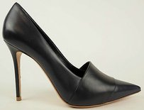 Céline Celine Navy Leather Black / Blue Pumps