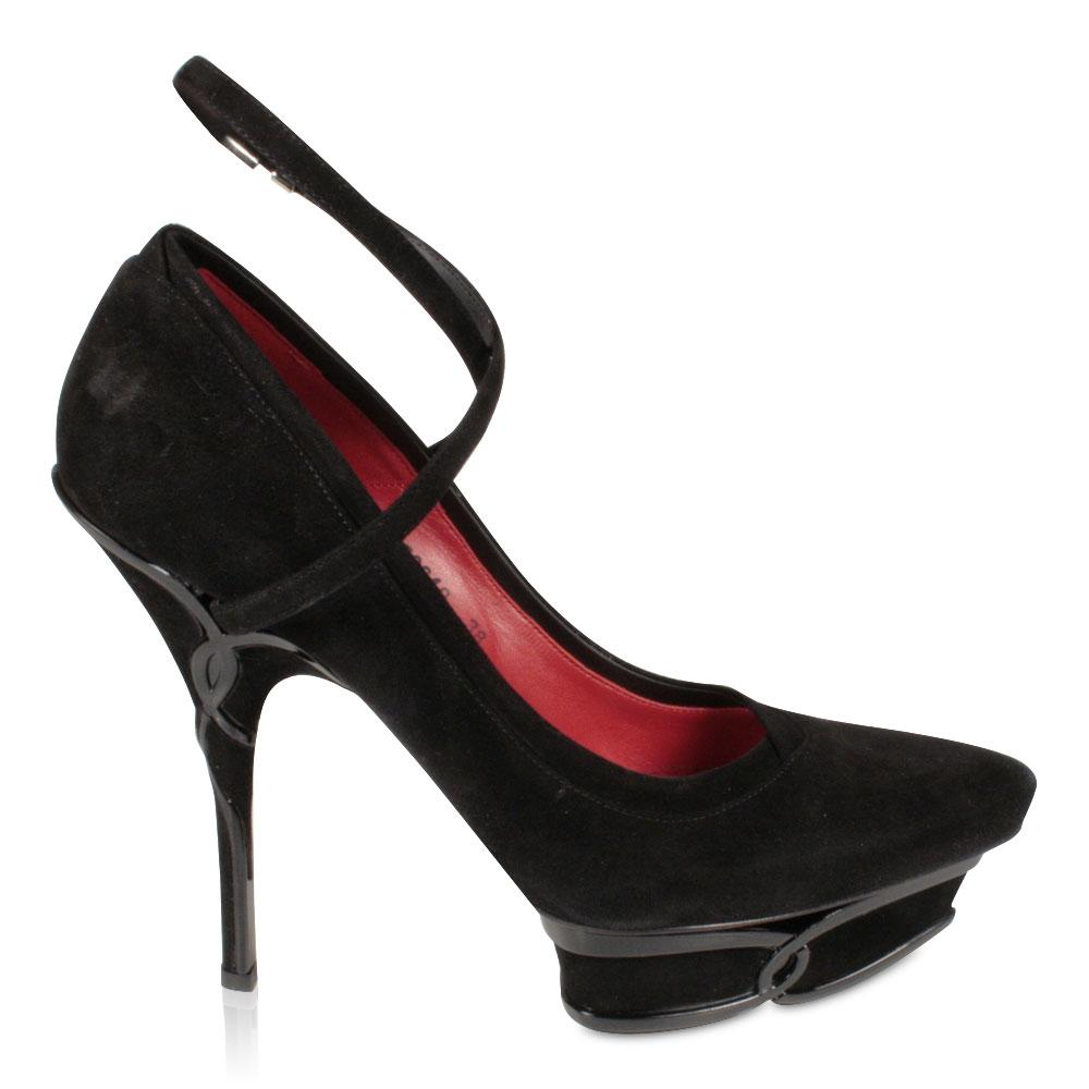 cheap price top quality Cesare Paciotti Suede Platform Pumps sale best sale clearance choice fast delivery online free shipping low cost ExDnkN