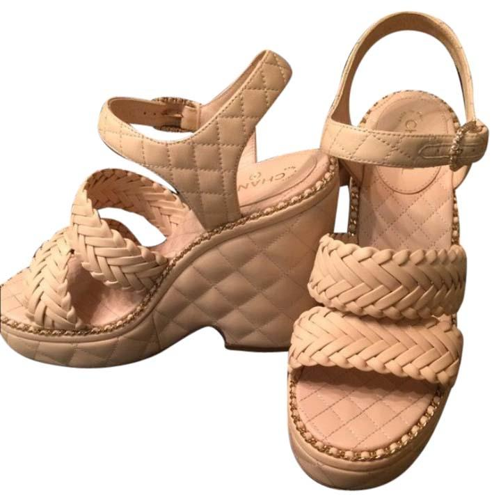 CHANEL Leather Sandals gThou