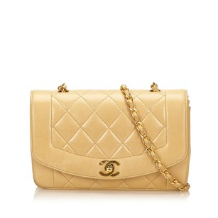 Chanel Beige Brown Shoulder Bag