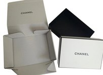 Chanel black and white storage box