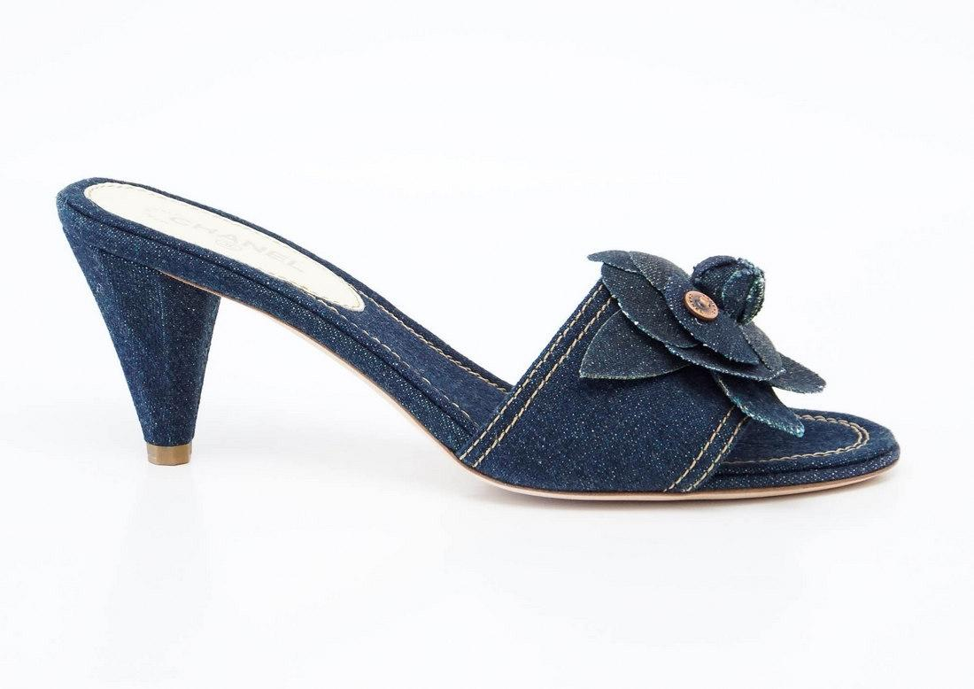 Pre-owned - Sandals Chanel RaEkf