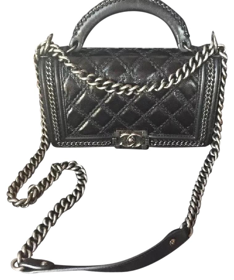 Chanel Boy Bag With Handle