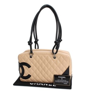Chanel Cambon Bowling Vuitton Gucci Quilted Shoulder Bag