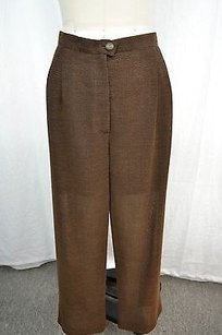 Chanel Wool Pleated Pants