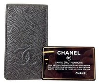 Chanel Chanel Cell Phone Caviar Leather Max055909