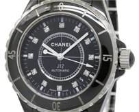 Chanel CHANEL J12 Diamond Ceramic Automatic Mens Watch H1626 (BF086268)
