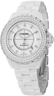 Chanel Chanel J12 Diamonds Date 42mm Automatic Ceramic Watch H2013