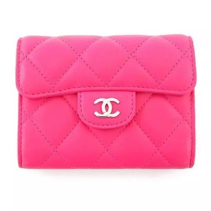 Chanel Chanel Pink Card Coin Wallet