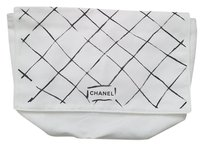 Chanel Chanel white dust bag