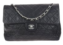 Chanel Lambskin Soft Jumbo Shoulder Bag