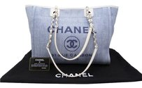 Chanel Deauville Shopping Tote Shoulder Bag