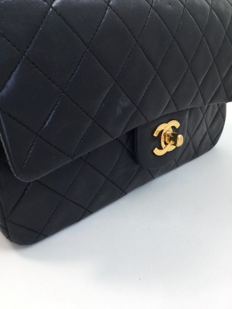 Chanel Double Flap Classic Quilted Small Shoulder Bag