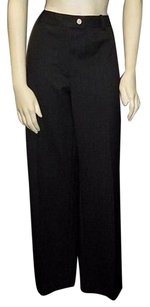 Chanel Wool Blend Straight Leg Crease Detail Career Dress Hs2890 Pants