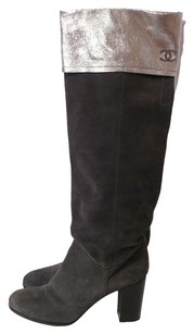 Chanel 40 40 grey Boots