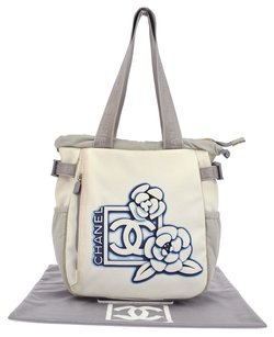 Chanel Hand Hand Tote in White