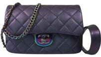 Chanel Iridescent Rainbow Chain Rainbow Limited Flap Cross Body Bag