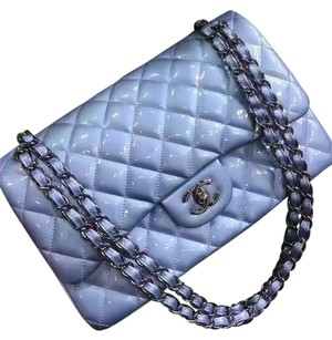 Chanel Jumbo Patent Double Flap Shoulder Bag