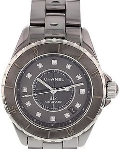 Chanel Ladies Chanel J12 Chromatic Diamond Dial Ceramic Watch