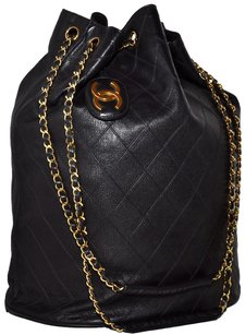 Chanel Lambskin Quilted Shoulder Bag