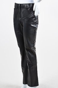 Chanel Leather Laser Pants
