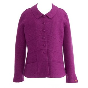 Chanel Lilac Blazer Purple Jacket
