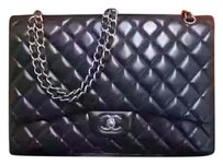 Chanel Maxi Lambskin Flap Shoulder Bag
