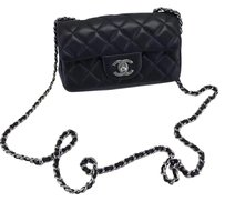 Chanel Mini Flap Lambskin Shoulder Bag