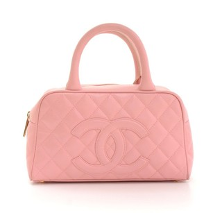 Chanel Quilted Caviar Leather Baguette