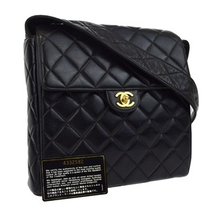 Chanel Quilted France Shoulder Bag