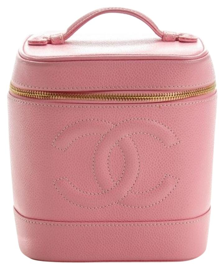 Image result for pink chanel  carry on bags