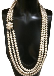 Chanel Rare Chanel Pearl Long Necklace