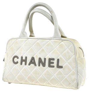Chanel Satchel in WHITE