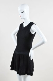 Chanel Crepe Wool Dress