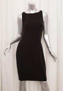 Chanel short dress Black 06a Womens Classic on Tradesy