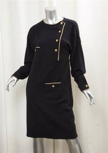 Chanel short dress Black Womens Vintage on Tradesy