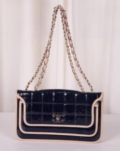 Chanel Navy Shoulder Bag