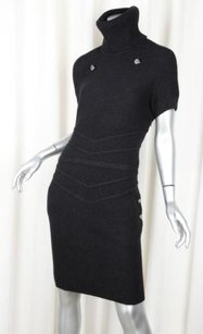 Chanel short dress Black Womens Classic on Tradesy