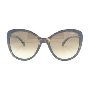 Chanel Butterfly Tortoise Gold Pearl Brown Polarized Sunglasses 5338H 714S9