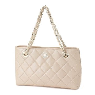 Chanel Tote in Light Pink