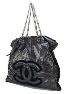 Chanel Tote Leather Tote Nylon Tote Black Tote Tote Shoulder Bag