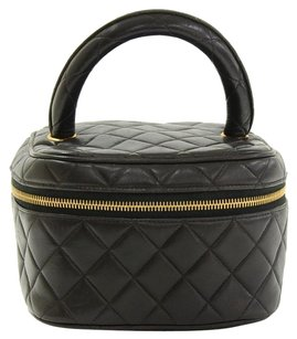 Chanel Vintage Quilted Travel Bag