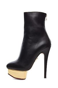 Charlotte Olympia Lucinda Black Boots