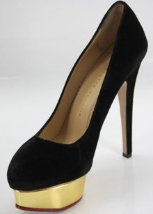 Charlotte Olympia Dolly Black Pumps