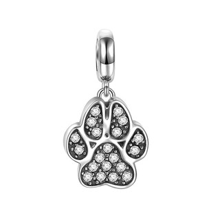 Other Cat Paw Pendant Charm 925 Sterling Silver