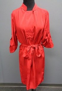 Chetta B. by Sherrie Bloom and Peter Noviello short dress Red B Crimson Polyester 34 Sleeve Shift Sma675 on Tradesy