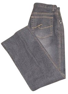 Chico's Chicos Design Black Cotton Boot Cut Jeans