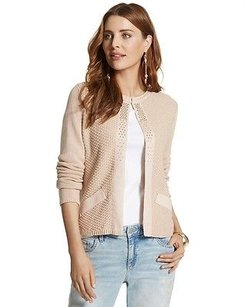 Chico's Chicos Embellished Shine Sweater