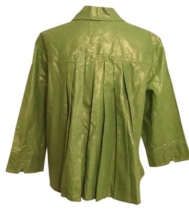 Chico's Chicos Swing Pleated Jacket