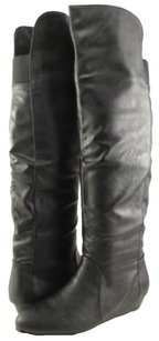 Chinese Laundry Trickster Womens Designer Over The Knee Black Boots